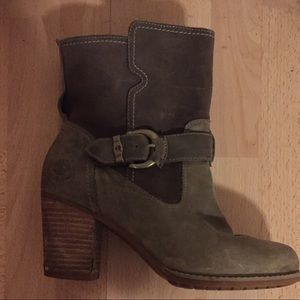 Timberland Waterproof Thick Heels